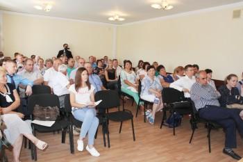 Денис Буцаев провёл рабочую встречу с бизнес-сообществом Лотошинского района